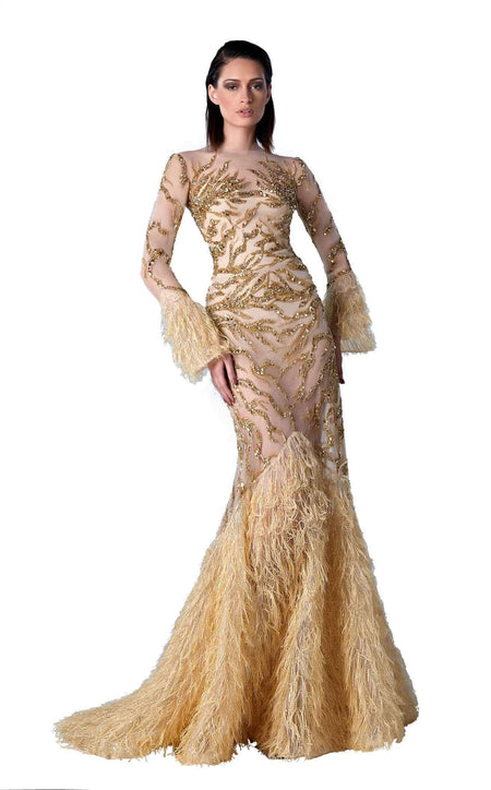 Edward Arsouni Couture SS0356 Dress