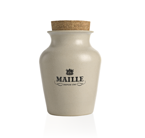 Maille Dijon Originale Mustard with White Wine, Freshly Pumped