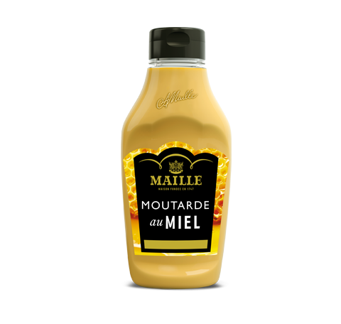 Maille moutarde au miel 270 g flacon souple face
