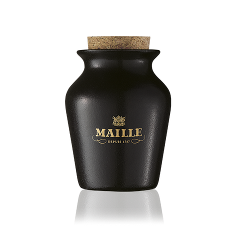 Maille Moutarde au Chablis and Brisures de truffe noire