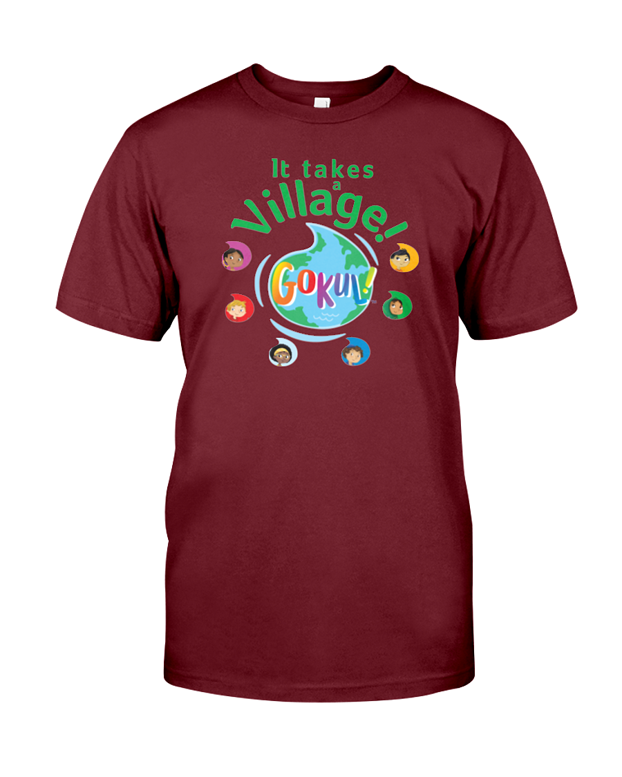 It Takes a Village! Men's and Women's T-Shirt (More Colors Available)