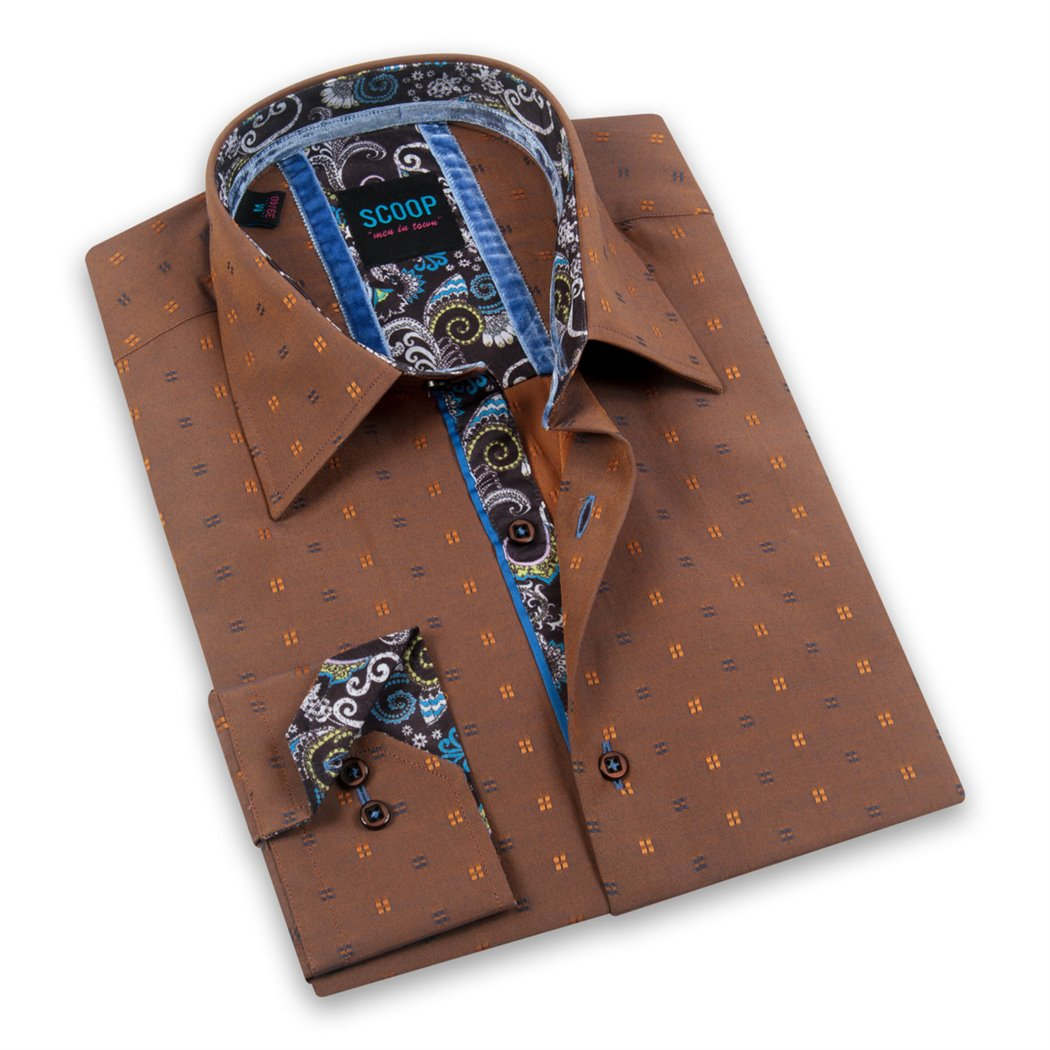 Rocco Amber Long Sleeve Shirt