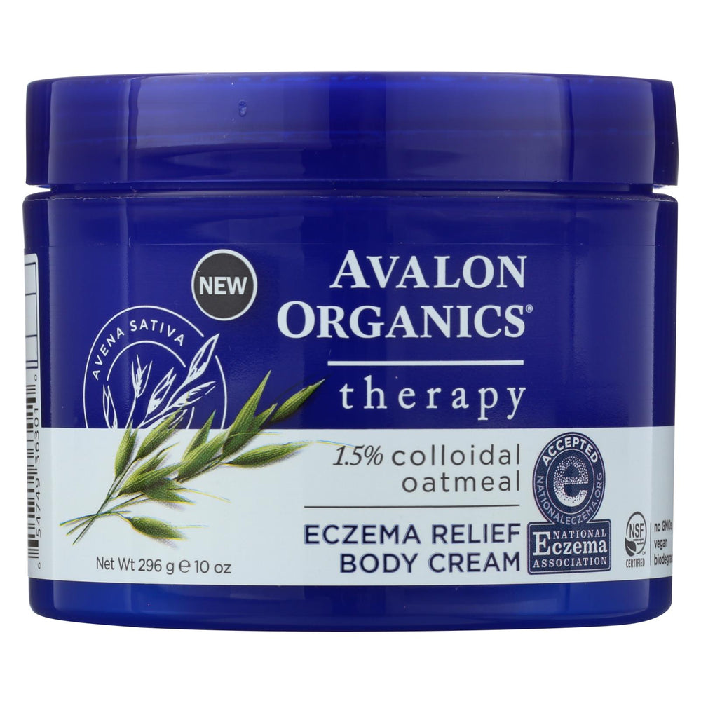 Avalon Eczema Cream - Relief - 10 Oz