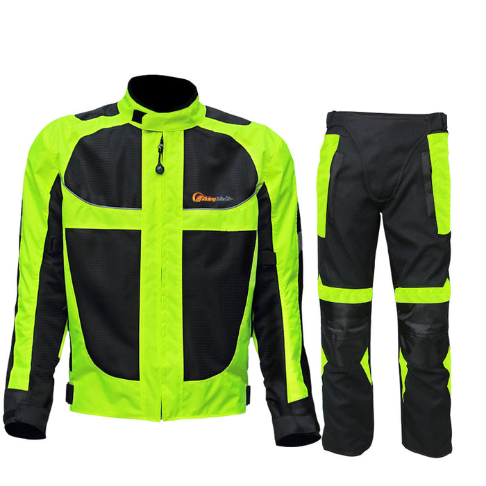 Breathable mesh Moto Jacket