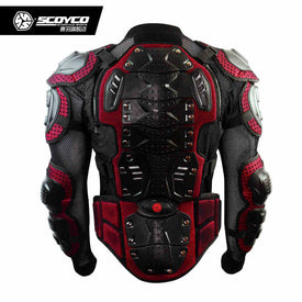 Hot Promotion Upgrade Motorcycle Armor Racing Full Protector Gears Armors Jacket Scoyco AM02-2