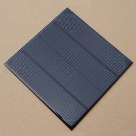 Wholesale 4.5W 6V Solar Cell Monocrystalline Solar Panel Solar Module DIY Solar Charger165*165*3MM 10pcs/lot Free Shipping