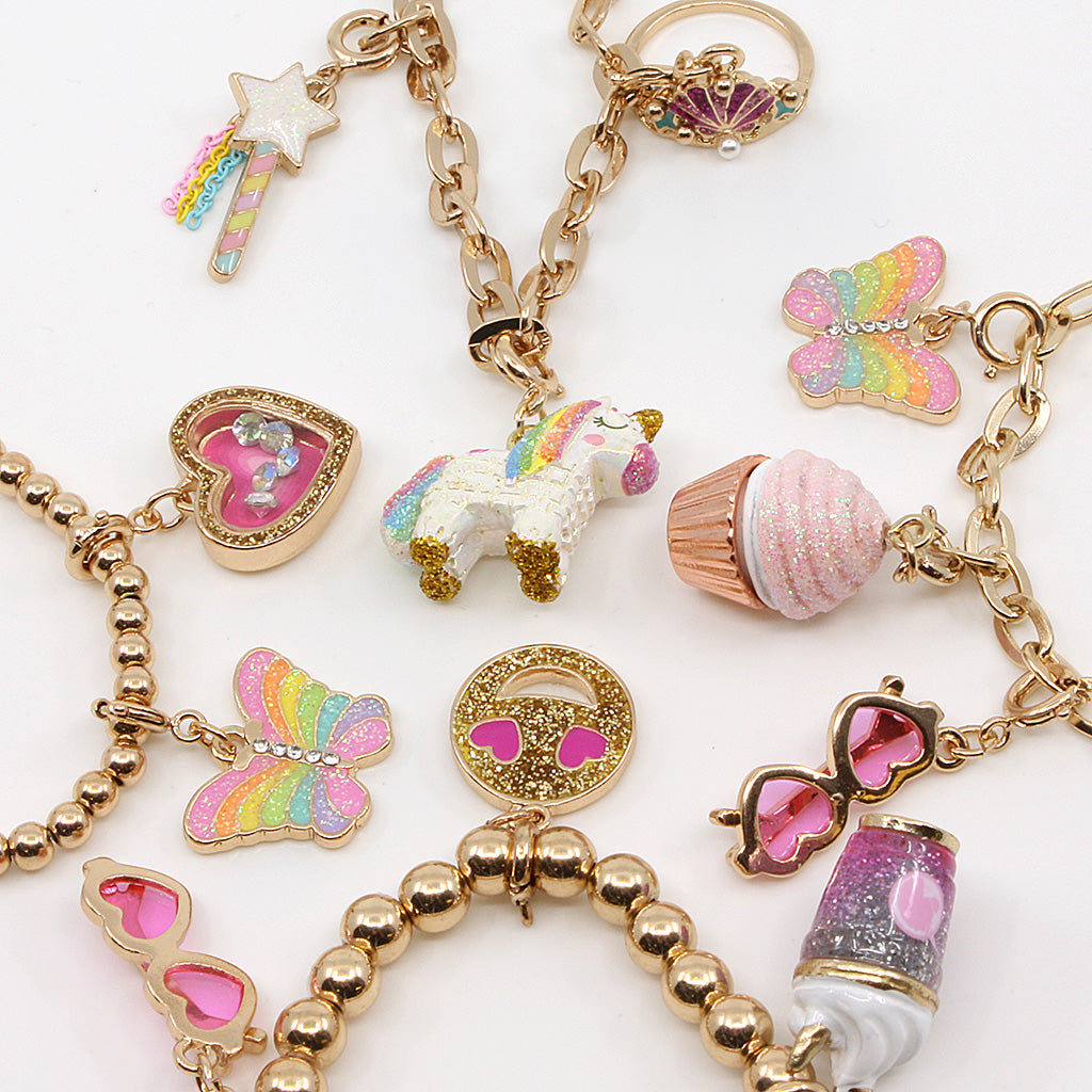 CHARM IT! Gold Charms and Charm Bracelets