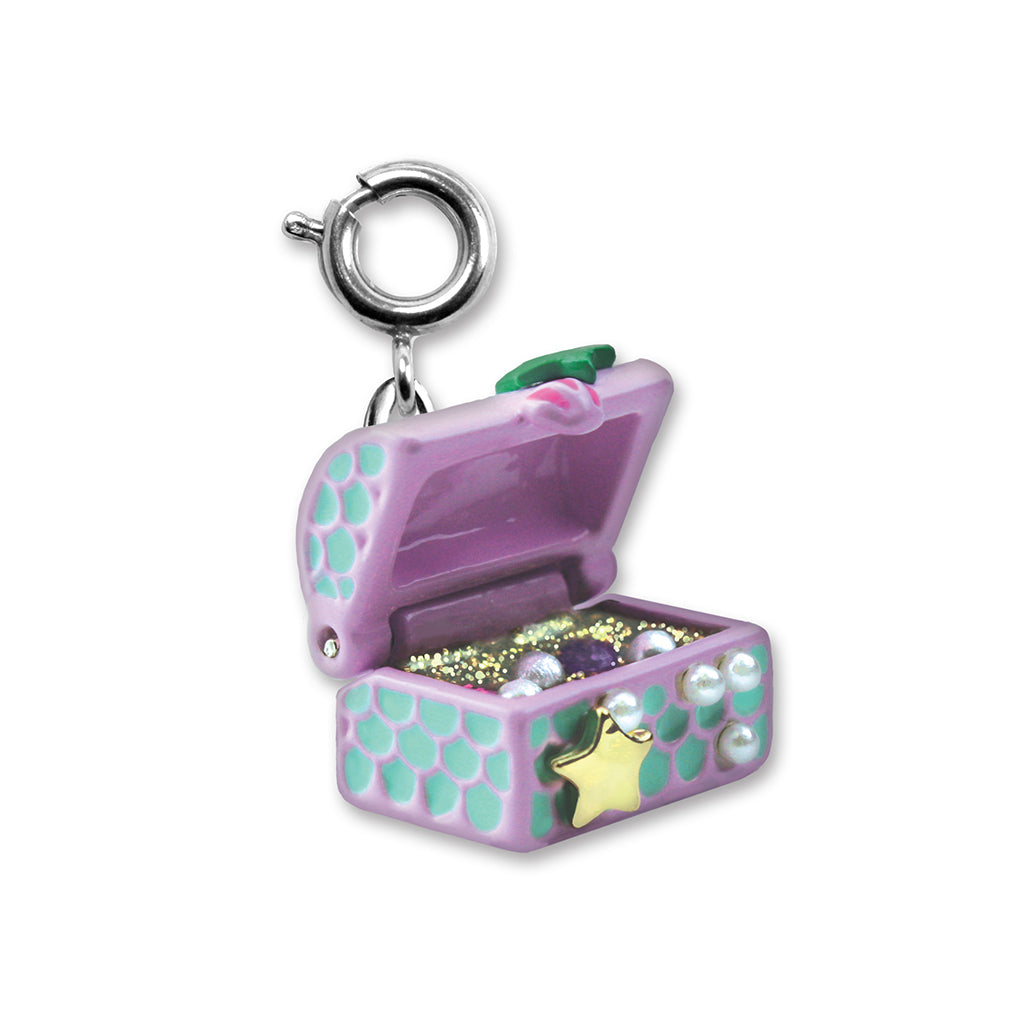 Mermaid Treasure Chest Charm