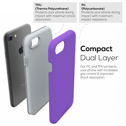 Purple iPhone 7 Case Apple 8 Cover Seven Eight Crave var-8111182938225