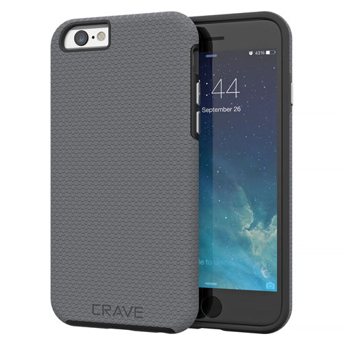 Grey Gray iPhone 6 Case Apple 6s Cover Six Crave var-8111183462513
