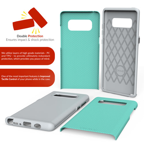mint green samsung galaxy note 8  case cover by crave eight var-8116733345905