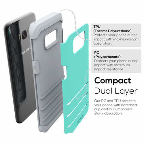 Mint Green Samsung Galaxy S8 Plus Case Strong Cover by Crave var-8116749598833
