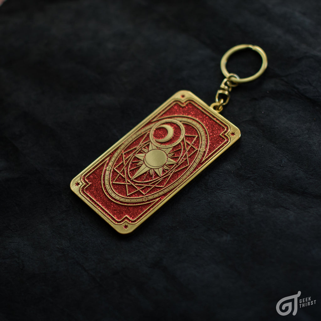 Geek Thirst™ Clow Card Keychain