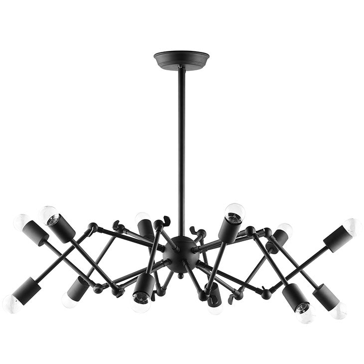 REAGHAN CEILING FIXTURE IN BLACK