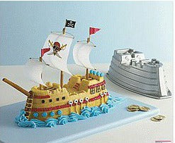 Pirate Ship Nordic - Cake Tin Hire
