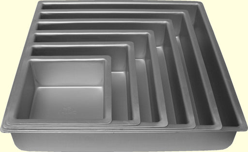 "Square - Cake Tin Hire (4-14"")"