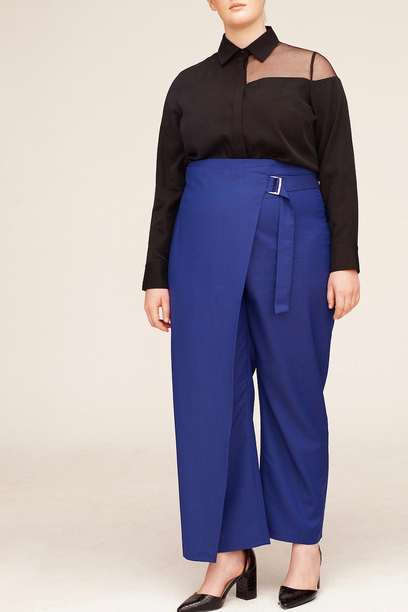 Van Der Nag Gioia Pants - Electric Blue