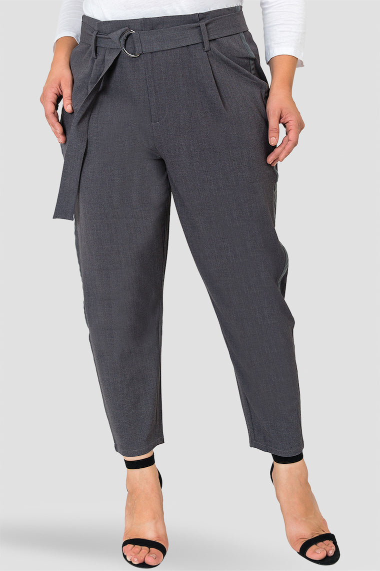 Standards & Practices Marina Pants - Charcoal