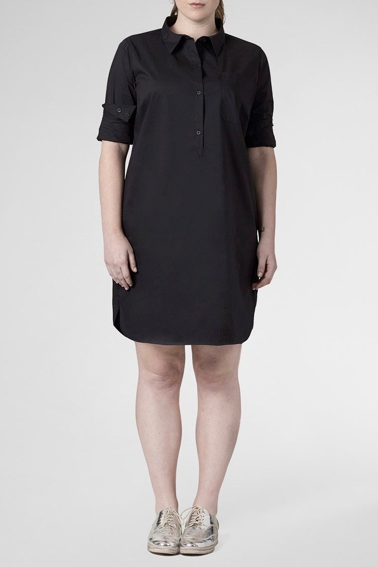 Universal Standard Rubicon Dress - Black