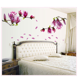 1Pcflower Wall Sticker 3D Vinyl Wall Decals Living