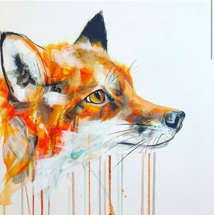 Limited Edition PRINT – FOX FACE