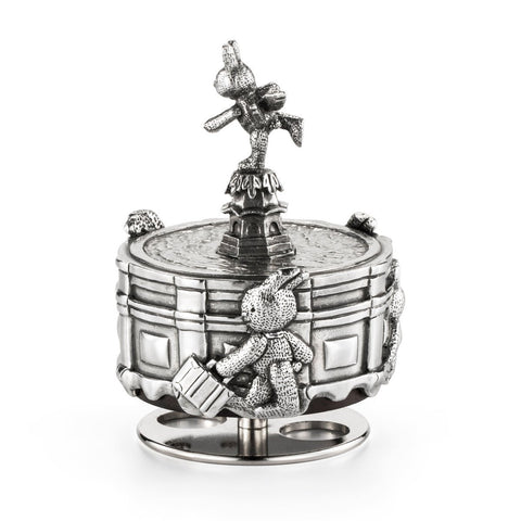 Royal Selangor Pewter Bunnies Day Out Collection Piccadilly Circus Music Box