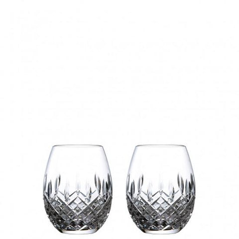 Royal Doulton Pair Rum Glasses  Highclere