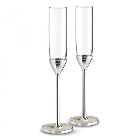 Vera Wang With Love Nouveau Toasting Flute Pearl (Set of 2)