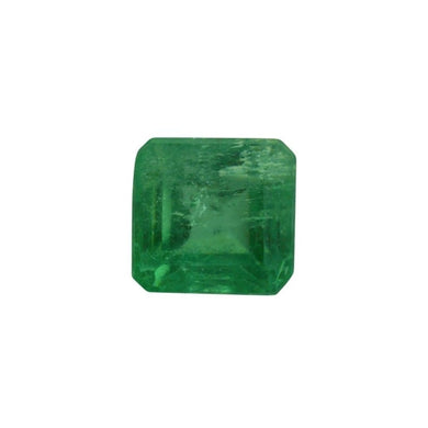 0.79 ct Square Cut Emerald - Skyjems Gemstones Gems