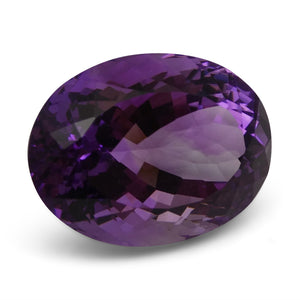 21.01 ct Amethyst Oval IGI Certified