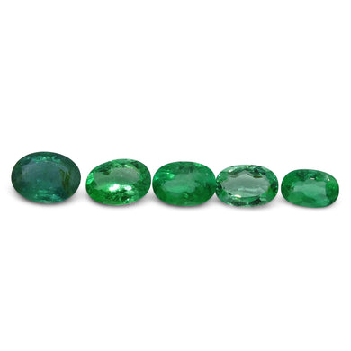 Colombian Emerald 2.77 cts 4st Oval  WHOLESALE LOT