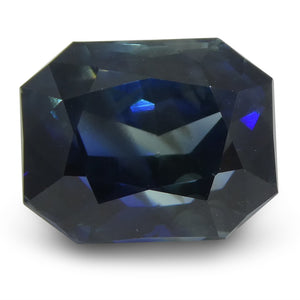 Sapphire 8.58 cts 10.43x8.31x7.36mm Cut-Cornered Rectangular Blue  $6435