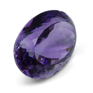 18.55 ct Oval Amethyst