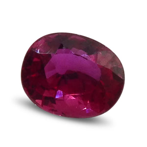 0.63 ct Oval Ruby - Skyjems Gemstones Gems