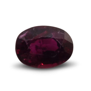 0.67 ct Oval Ruby - Skyjems Gemstones Gems