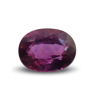 0.48 ct Oval Ruby - Skyjems Gemstones Gems