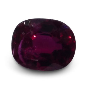 0.39 ct Oval Ruby
