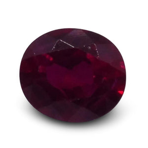 0.38 ct Oval Ruby