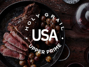 Bone-In Strip Steak - Upper Prime Black Angus ~16oz.