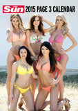 The Sun Page 3 Official 2015 Calendar