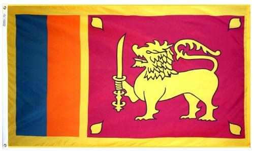 Sri Lanka outdoor flag for sale