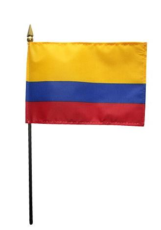 Mini Colombia Flag