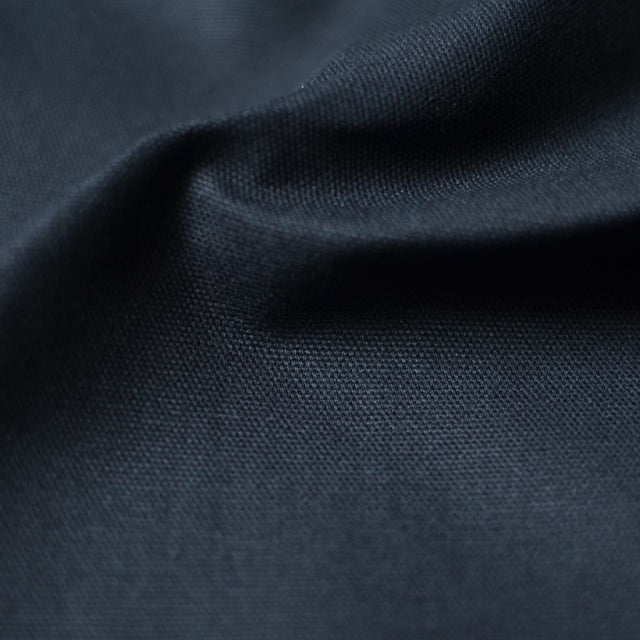 Black – Greta Organic Cotton 10 oz Duck Canvas – 1/2 yard