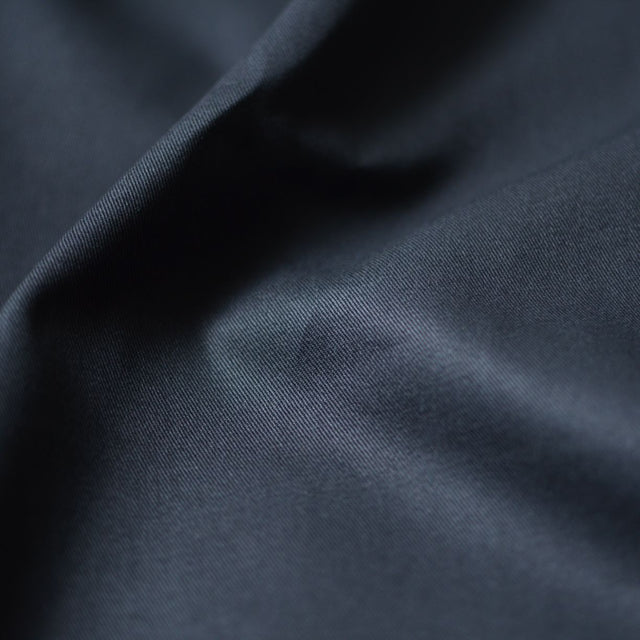 Black – Gracey Organic Cotton 7 oz. Twill – 1/2 yard
