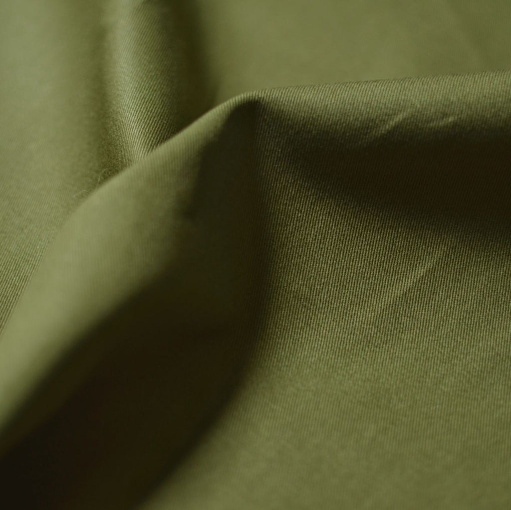 Remnant - Moss – Gracey Organic Cotton 7 oz. Twill – 1 yard