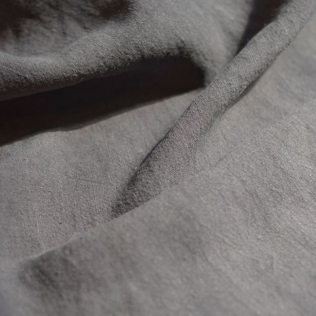 Charcoal – Alexandria Lightweight Washed Linen – 1/2 yard