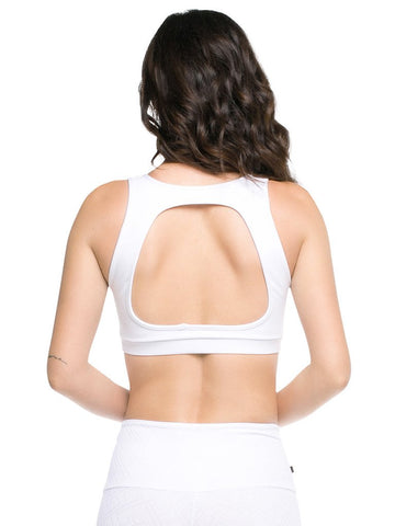 Back Straps Bra Top - Padded
