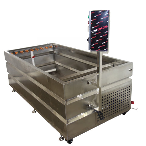 10' FOOT STAINLESS HYDROGRAPHIC WATER TRANSFER DIP TANK
