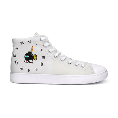 TIME BOMB Hightop Canvas Shoe