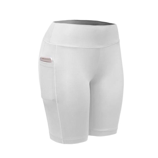 Women Shorts With Phone Pocket